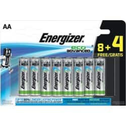 Energizer Batteries Eco Advanced AA 12 batteries