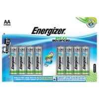Energizer Batteries Eco Advanced AA 8 pieces