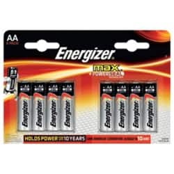 Energizer Batteries Max AA 8 Pieces