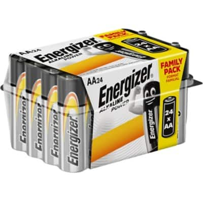 Energizer AA Batteries Alkaline Power Pack of 24