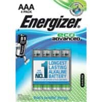 Energizer Batteries Eco Advanced AAA 4 pieces