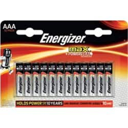 Energizer Batteries Max AAA 12 Pieces