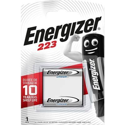 Energizer 223 Batteries CR-P2 223 6V Lithium