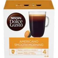 NESCAFÉ Dolce Gusto Americano Smooth Morning Coffee Pods 16 Pieces