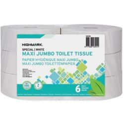 Highmark Toilet Paper Maxi Jumbo 2 ply 6 rolls of 1180 sheets