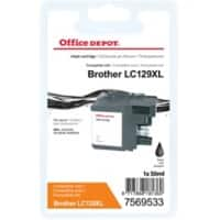 Office Depot Compatible Brother LC129XL Ink Cartridge Black