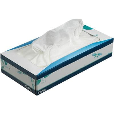 Kleenex Facial Tissue Box 8824 3 Ply 72 Sheets
