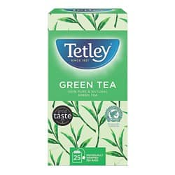 Tetley Green Tea Tea Bags 25 Pieces