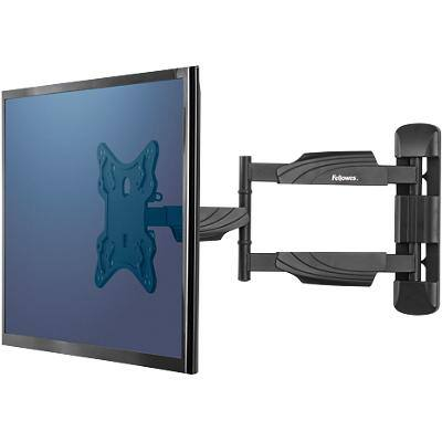 Fellowes TV Wall Mount Height Adjustable Up to 55 inch Black