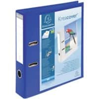 Exacompta Presentation Ring Binder PVC A4 2 ring 75 mm Blue