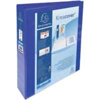 Exacompta Ring Binder A4 Maxi 4 ring 70 mm Blue