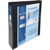 Exacompta Maxi Ring Binder A4 Maxi 4 ring 70 mm Black