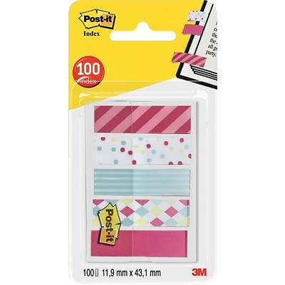 Post-it Super Sticky Notes Candy Assorted 11.9 x 43.2 mm 20 Sheets