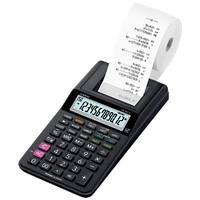 Casio Printing Calculator HR-8RCE 12 Digit Display Black