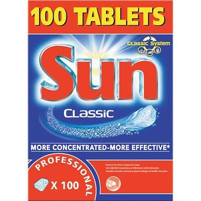 Sun Dishwasher Detergent Professional Original 100 Pieces