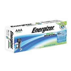 Energizer Batteries Eco Advanced AAA 20 Pieces