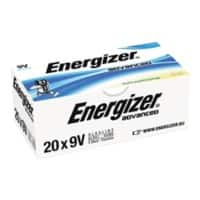 Energizer Batteries Eco Advanced 9V 20 batteries 20 batteries