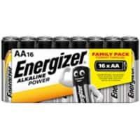 Energizer Batteries Alkaline Power AA 16 batteries