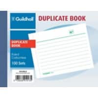 Guildhall Duplicate Book 1013DLZ A6 100 sheets
