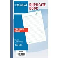 Guildhall Duplicate Book 2113DLZ 21 x 13,5 cm 100 sheets