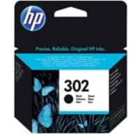 HP 302 Original Ink Cartridge F6U66AE Black