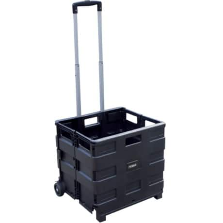 Viso Folding Crate Black 38 x 42 x 40 cm