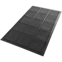Floortex Floor Mat Anti fatigue Black 1,500 x 900 mm