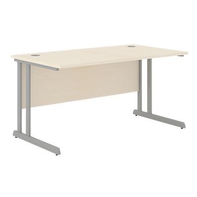 Straight Desk Optima C Maple 1,400 x 800 x 720 mm