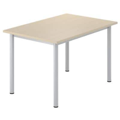 Desk Optima G Maple 1,200 x 800 x 720 mm