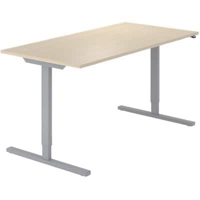 Sit Stand Desk Optima G Oak 1,600 x 800 x 720 mm
