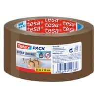 tesapack Extra Strong Packaging Tape 66 m x 50 mm Brown