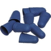Office Depot Finger Cones Blue 12 Pieces