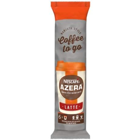 Nescafé Instant Coffee Azero to Go 6 pieces of 20 g