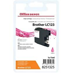 Office Depot Compatible Brother LC123M Ink Cartridge Magenta