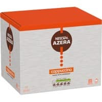 NESCAFÉ Azera Cappuccino Instant Ground Coffee Sachets 16g 35 Pieces