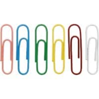 Office Depot Paper Clips 33 mm Assorted 500 Pieces