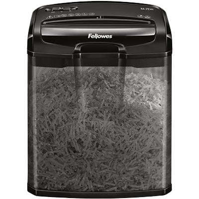 Fellowes M-7CM Cross Cut Shredder 7 Sheets 13 Litre Bin Security Level P-4