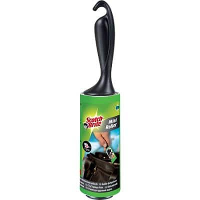 Scotch-Brite Lint Roller 3 x 16.8cm Black
