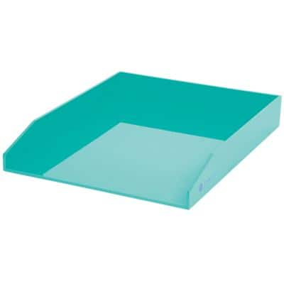Foray Letter Tray Generation Plastic Teal 25.1 x 31.3 x 4.5 cm