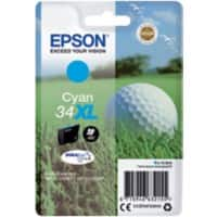 Epson 34XL Original Ink Cartridge C13T34724010 Cyan