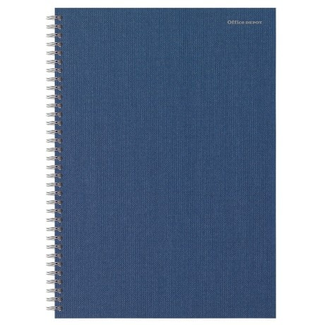 Office Depot Notebook A4 Ruled Navy Blue 80 sheets