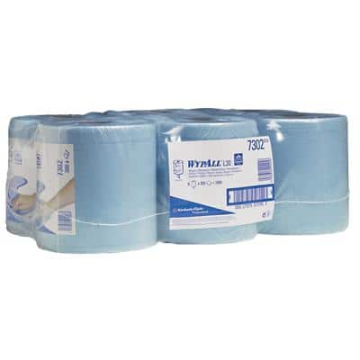 WYPALL Wiping Paper L20 2 Ply 6 Rolls of 336 Sheets