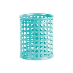 Foray Pencil Pot Mesh Blue