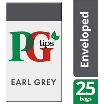 PG tips Earl Grey Tea Bags 25 Pieces