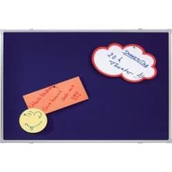Franken Notice Board X-tra!Line Blue 1,200 x 1,800 mm