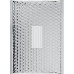 Office Depot Metallic Padded Envelopes G/4 Silver 80gsm Peel and Seal 100 Pieces