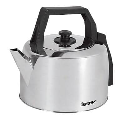 igenix Corded Kettle 3.5L Stainless Steel Silver 2200W