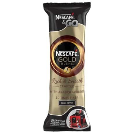 Nescafé Instant Coffee Nescafe &GO 8 pieces of 7.2 g