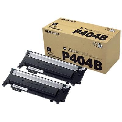 Samsung CLT-P404B Original Toner Cartridge Black 2 Pieces