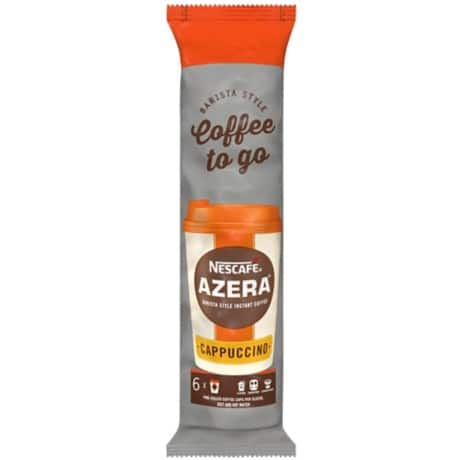 Nescafé Instant Coffee Azera to Go 6 pieces of 20 g